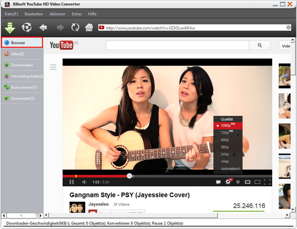 YouTube HD Video Converter Anleitung