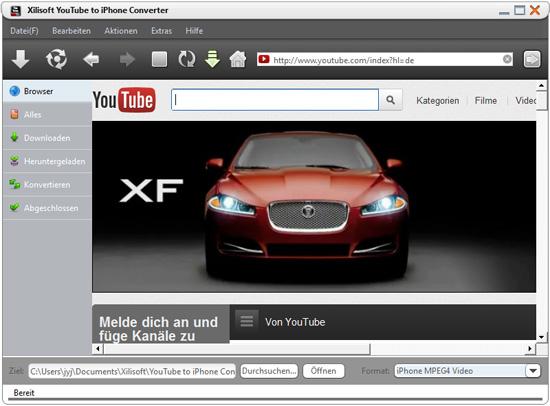YouTube Video, Musik auf iPhone laden Anleitung